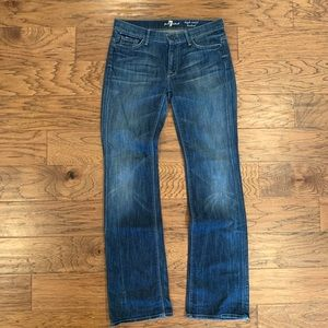 7 For All Mankind High Waist Bootcut Size 30